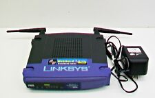 LINKSYS Wireless G 2.4GHz Broadband Router  4 Port 54 Mbps EUC