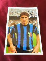 Autografo originale ANGELO DOMENGHINI-Internazionale Milano-CdM 1970-Ex-Cagliari