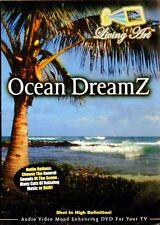 OCEAN DREAMZ: LIVING ART MOOD ENHANCING RELAXATION DVD w/NATURAL SOUNDS & MUSIC!