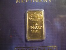 IGR Goldgram 999.9 Fine Gold 1 Gram Bar ISTANBUL GOLD REFINERY
