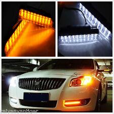 2pcs 30 LED Car Truck Daytime Running Light DRL Turn Signal Indicator Fog Lamp