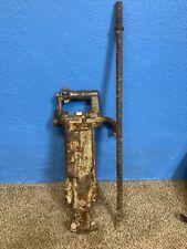 Antique Gold Miner Drill Jackhammer