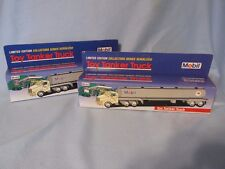 Mobil Oil Limited Edition Collectors Series ToyTanker Trucks(2) 1993 Collectible