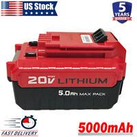 PCC685L For Porter Cable 20V Battery 5.0Ah PCC682L PCC681L PCC680L Lithium Tools