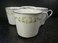 Set of 4 Sheffield Fine China Cups Made In Japan, 502 Elegance, Great Condition