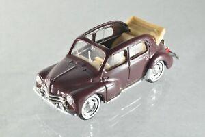 JQ186 Solido 1:43 Renault 4CV Decouvrable A+/-