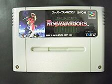 Super Famicom The Ninja Warriors Again Japan SFC SNES