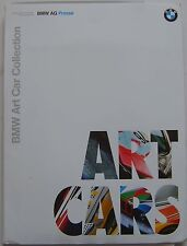 BMW Art Car Collection 1992 Original Press Pack In Italian 3.0 CSL M1 Z1 635 CSi