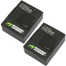 Wasabi Power Battery for GoPro HERO3, HERO3+ (1280mAh, 2-Pack)