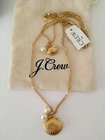 NWT J Crew Women's  Shell-and-pearl necklace