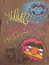 Vtg RARE Animal The Muppet Show Medium T Shirt Jim Henson Drummer Rock Band USA