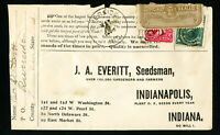 US 1890 Rare Official Seal Advertising Stamp Cover
