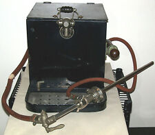Antique Bar JOCKEY BOX Beer Cooler Kegerator w/ Keg Tap, & Drip Pan w/ Drain
