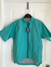 Nwt~Peter Millar~Waterproof S/S Golf Jacket w/ Pm logo ~Men'S Large~ Msrp $248
