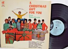 "PHIL SPECTOR~""CHRISTMAS GIFT FOR YOU"" 1963 BLUE/BLACK U.S.ORIG.PHLP-4005~Lp"