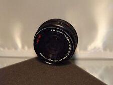 Konica Hexanon f/18. f1.8 40mm Lens