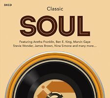VARIOUS ARTISTS - CLASSIC SOUL: 3CD SET (August 28th 2015)