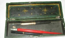 VINTAGE PENCIL BOX WITH 3 PENS