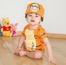 Disney Winnie l'ourson Tigrou Body Livre Semaine robe fantaisie 9-12 mois