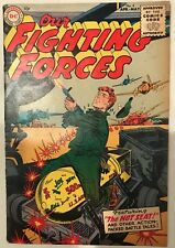 (1955) OUR FIGHTING FORCES #4! BOMB COVER! Rare!