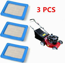 3 PCS Lawn Mower Air Filters For Briggs & Stratton 491588 491588S 399959 5043