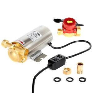 Nordstrand 90W Water Pressure Booster Pump Shower Home Automatic Stainless Steel