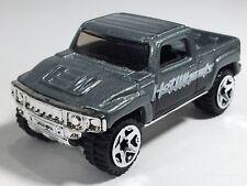 Hot Wheels Hummer H3T H3 T Concept Metalflake Gray Black Mainline 2006 Loose