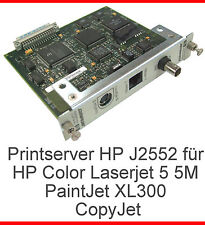 Print server Print Server HP j2552 Color LaserJet 5 5m PaintJet xl300 CopyJet