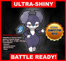 Pokemon Sword/Shield Ultra Shiny Battle Ready Indeedee FAST DELIVERY