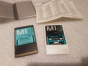 KORG M1 DRUMS 1 SOUND CARD SET