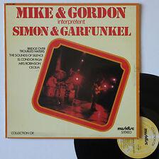 "Vinyle 33T Mike & Gordon "".. interprètent Simon & Garfunkel"""