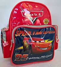 ~ Disney Cars - BACKPACK / BAG with 2 SIDE POCKETS