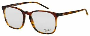 Ray-Ban Eyeglasses RX 5387 5874 54 Red Havana,Blue; Tortoise Frame [54-18-150]