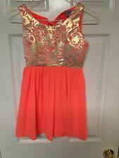 Jolt Girls Size 7 Polyester Sleeveless Dress
