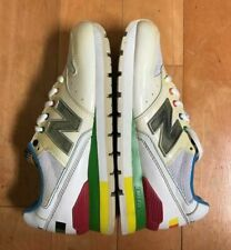 NEW BALANCE 996 WHITE RAINBOW RUNNING CONDITIONAL KIDS GS SZ 5.5-6  CM996MWT
