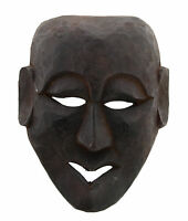 Maschera Massa Nepal De L'Himalaya Sciamano-Viso Humain Tribale 2659 W6