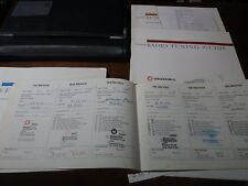 Vauxhall Vectra W 2000 Book Pack Service Book Owners Manual