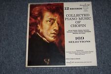 Collected Piano Music Of Chopin Murray Hill 12 LP Records VG+ S 3115