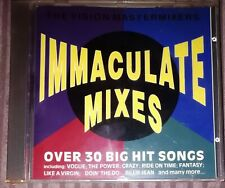 The Vision Mastermixers Immaculate Mixes CD Album