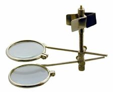 "24mm 7/8"" Clip On 7/8"" Dual 5X 10X Eye Glass Lens Loupe Magnifier #MI128-55"