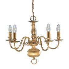 Searchlight Flemish 5 Light Antique Brass Fitting 1019-5ab