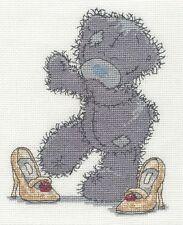 DMC CROSS STITCH KIT-tatty TED-Chaussures de maman