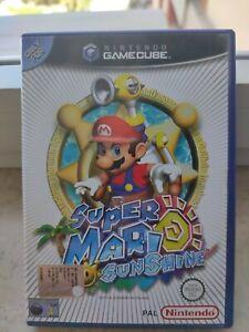 Super Mario Sunshine Nintendo GameCube PAL ITALIANO COMPLETO
