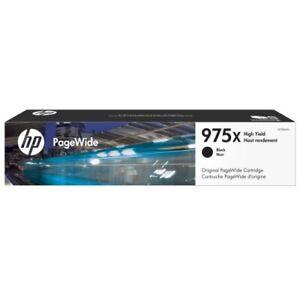HP Genuine 975X BLACK HY Ink Cart->PageWide Pro 577z/552dw/477dw L0S09AA 10K