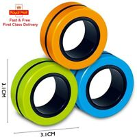 Fin gears Magnetic Ring Toy Finger Spinner Toy Multi Activity Stress Relief.....