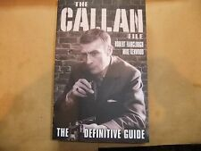 EDWARD WOODWARD THE CALLAN FILE NEW BOOK EXCELLENT GUIDE TO SERIES EQUALIZER CI5