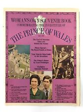 Womans Own Souvenir Book Commemorating The Prince Of Wales July 1 1969 K798
