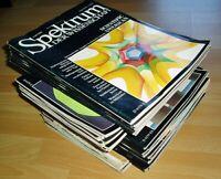 34x Spektrum der Wissenschaft 1981 1982 1983 1984 Sammlung Zeitschrift Science