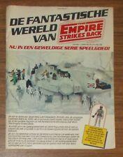 Seltene Werbung Kenner Star Wars ESB Millennium Falcon Boba Fett Holland 1981