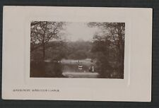 Queensmere Wimbledon Common, London Vintage Sidney Smith  RP postcard  zc.366